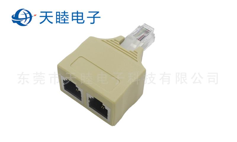 RJ11连接器带屏蔽高清图片